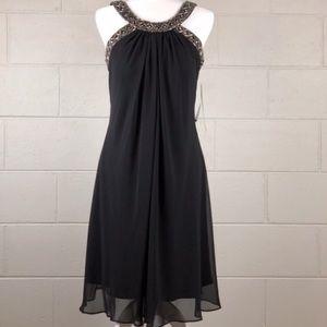 Scarlett Nite Beaded Collar Dress